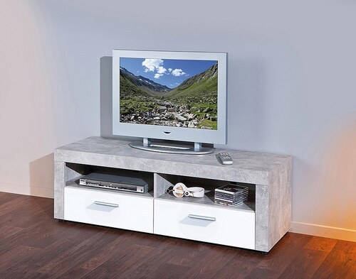 TV-Lowboard, Breite 134 cm