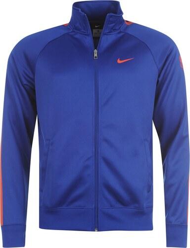 e0a802c888 Sportovní mikina Nike Manchester United FC Core pán. modrá červená L ...