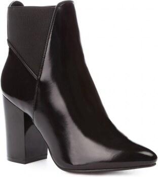 Dámské černé lesklé kotníkové boty Jennifer 861 - Glami.cz a4d6ce8c49