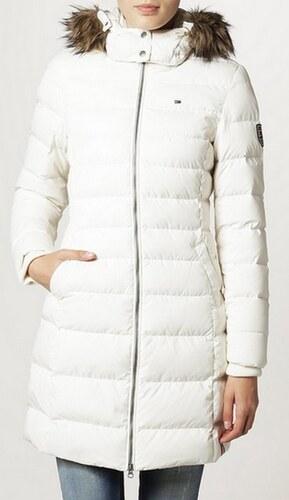 HILFIGER DENIM Dámský zimní kabát Tommy Hilfiger Maria down coat bílá XL 3b88ad0dd3