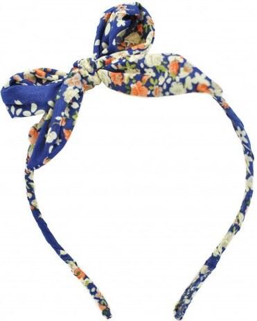Čelenka s mašlí modrá A35591 - Glami.cz 7bf07c5a08