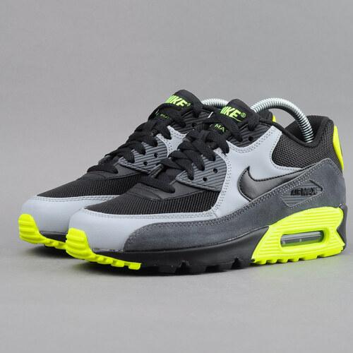 77312388ac8525 Nike Air Max 90 Mesh (GS) black   black - wolf grey - dark grey ...