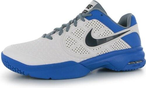 077dbbd285a Nike Air Max Courtballistec 4 3 pánská tenisová obuv Wht DkGrey Blue ...