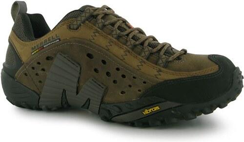 Outdoorové boty pánské Merrell Intercept Moth Brown - Glami.cz 8c5422c1d7c