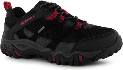 Merrell Rockbit Gore Tex Walking Shoes dámské Black Fuchsia 5 - Glami.cz 76620ad313