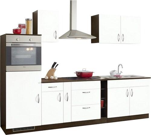 Küchenzeile »Milan« mit E-Geräten, Breite 290 cm