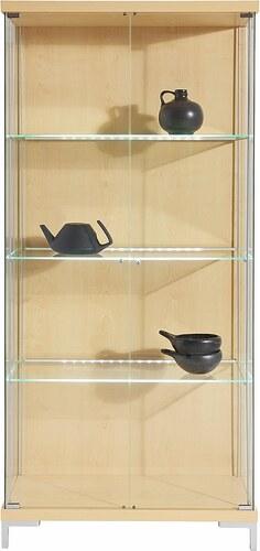 Vitrine, 2-türig mit 3 Glasböden