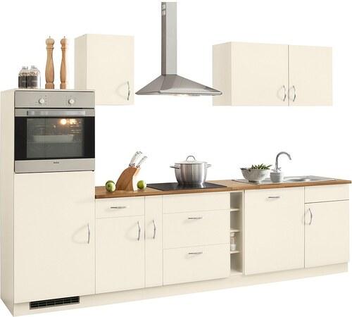 Küchenzeile »Milan« mit E-Geräten, Breite 300 cm