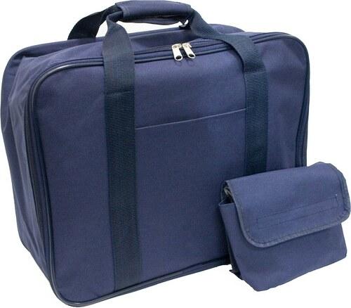 Nähmaschinen-Tasche (H/B/T: ca. 30/40/18 cm), blau