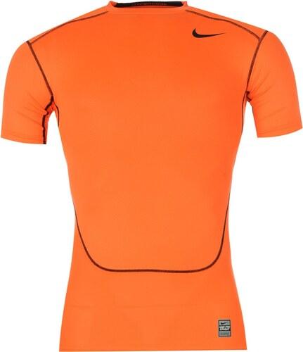 0d37051ec47e Termo tričko Nike Hyper Cool Pro Combat pán. oranžová L - Glami.cz