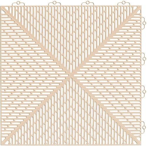 Bodenplatten-Set: »Kunststofffliese Unique Sand«