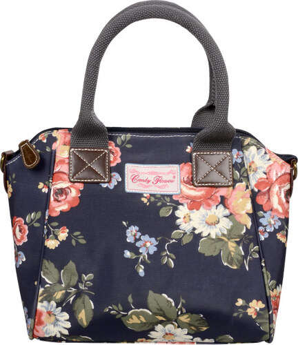 Candy Flowers Stylová modrá kabelka s květy 4132-269 - Glami.cz 2dfce628ea9