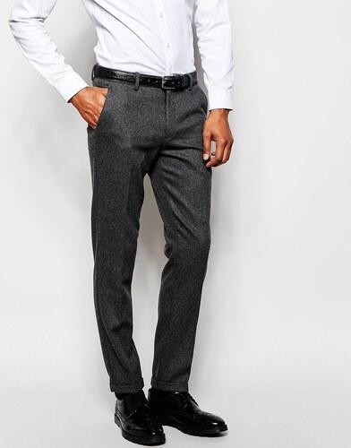 Pantalon de costume slim à carreaux - GrisSelected ytel4i
