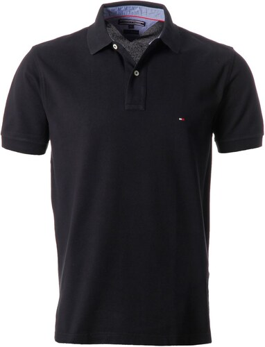 Polokošile pánská Tommy Hilfiger New Polo New Black - Glami.cz eb0bf20eeb
