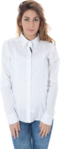 Dámská košile Calvin Klein - Bílá   46 - Glami.cz 374e241954