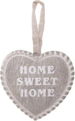 Dekorační srdce k zavěšení Home Sweet home