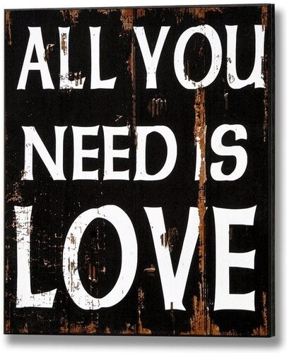 Obraz All you need is love