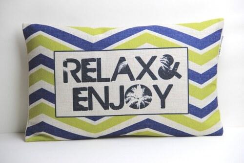 Povlak na polšář Relax & Enjoy 30x50cm