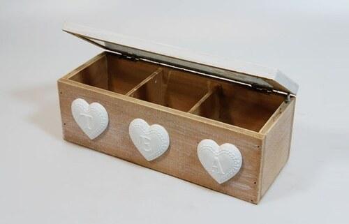 Krabička na čaj Heart