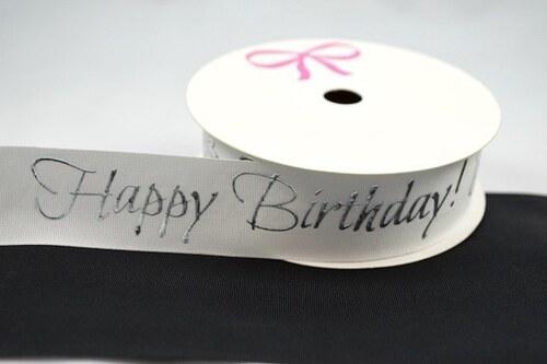 Stuha Happy Birthday