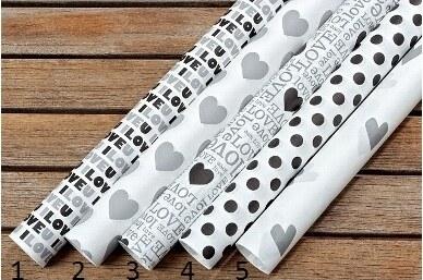 Balící papíry Black & White Styl 1
