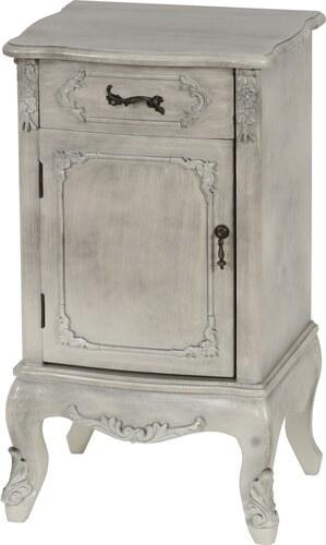Komoda Baroque, Antique White