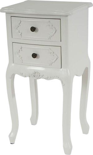 Odkládací stolek Blois, Creme White