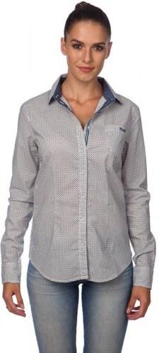 Timeout dámská košile bílá - Glami.cz 39fa9ab969