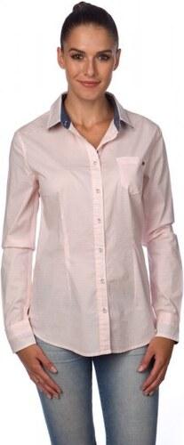 Timeout dámská košile růžová - Glami.cz c55b42f3ce