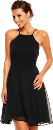 Společenské šaty s odhalenými zády Mayaadi - černé - Glami.cz f3b2c505dc7