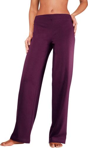 Kalhoty pro volný čas rubínově červená - K-velikosti