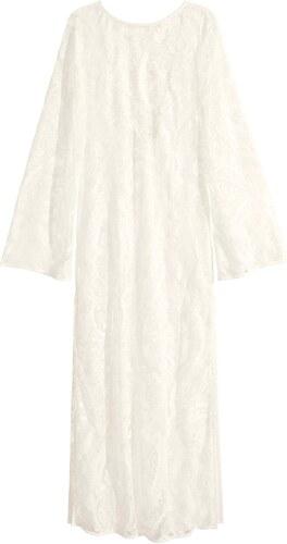 H M Dlouhé krajkové šaty - Glami.cz 83bf3c33ac