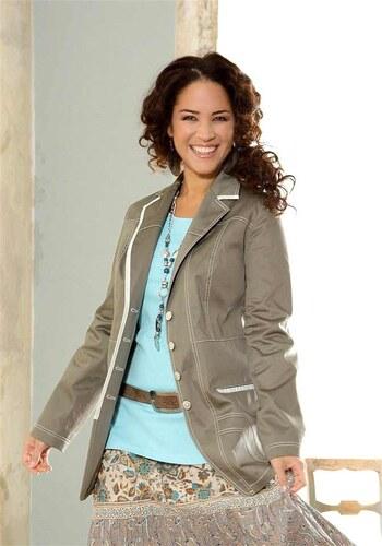 5813a4a0fb0a Your Life your Fashion Dámské sako také pro plnoštíhlé v nadměrné velikosti  (vel.48