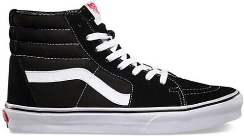 6aefbca5c39 Pánské boty Vans Sk8-hi black black white 45 - Glami.cz