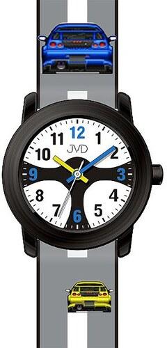 911b00551b8 Chlapecké čitelné dětské hodinky JVD J7156.2 se závodním volatem pro  závodníky