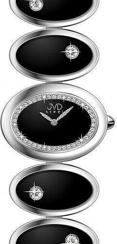 Šperkové luxusní keramické ocelové dámské náramkové hodinky JVD steel W21.2 1a0671dde02