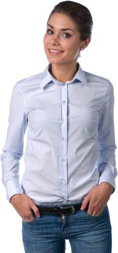Gant dámská košile s dlouhým rukávem 34 modrá - Glami.cz dffc2ed5d3