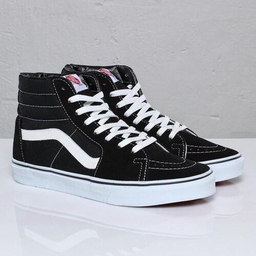 e09a21222c4 Dámské boty Vans Sk8-hi black black white 37 - Glami.cz