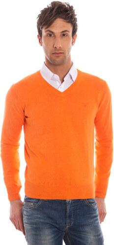 a5cffeea1ba4 Pánský svetr Gant - M   Oranžová - Glami.cz