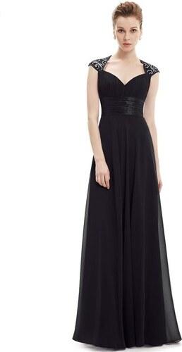 f550b8eb15c Ever Pretty plesové šaty s flitry černé 9672 XS - Glami.cz