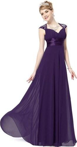 Ever Pretty plesové šaty s flitry fialové 9672 - Glami.cz 71295670551