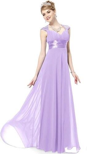 632f1627098 Ever Pretty plesové šaty s flitry sv. fialová 9672 XS - Glami.cz