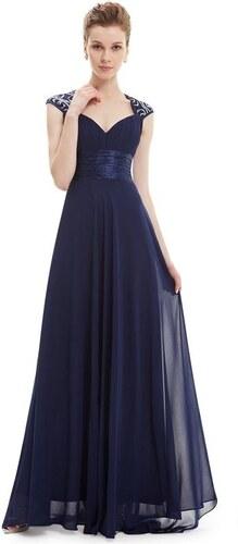829457d4a73 Ever Pretty plesové šaty s flitry tmavě modrá 9672 - Glami.cz