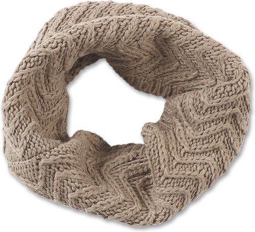 s.Oliver dámská kruhová pletená šála 39.510.91.6790 8447 - Glami.cz 6741118543