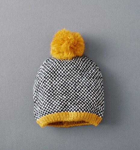 Promod Bonnet point graphique Femme - Glami.fr 24cdb000241