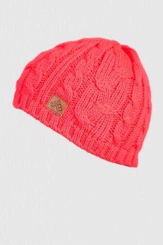 SAM 73 Dámská pletená zimní čepice UC 121 119 - růžová neon - Glami.cz b20075f3aa
