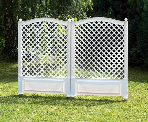Spalier »100x140 cm, weiß«