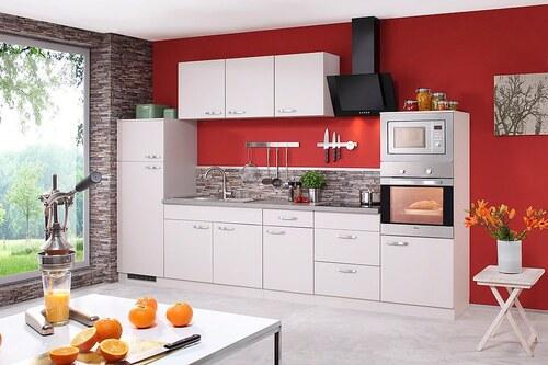Küchenzeile mit E-Geräten »Kansas«, Breite 330 cm
