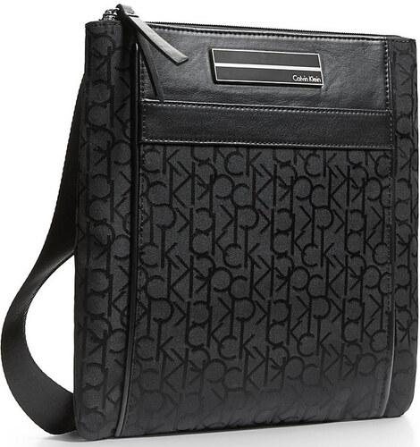 Calvin Klein Elegantní crossbody kabelka Logo Jacquard Sport Crossbody Black e1451f2a622