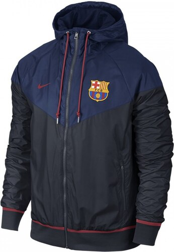 nike coupes vent veste coupe vent fc barcelona authentic windrunner 689949 421. Black Bedroom Furniture Sets. Home Design Ideas